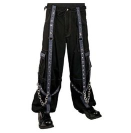 Gothic Baggy Bondage Cyber Chain Pants
