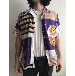 Hawaii Shirt Fashion Summer Indie Tie Dye Color T Shirt L