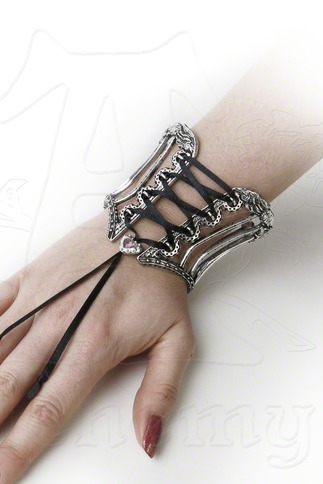 Women's Unique Corset Cage Bangle