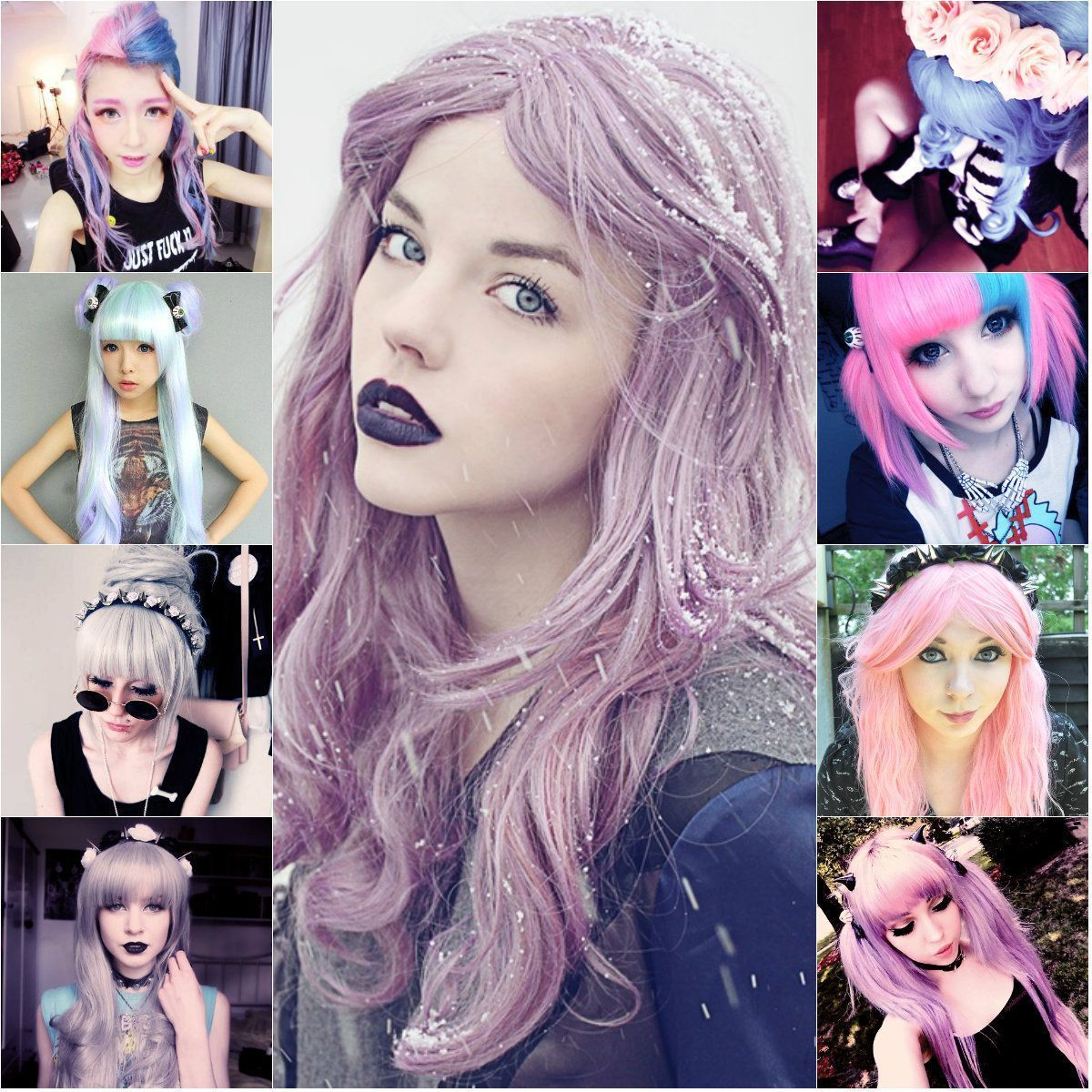 Pastel Goth Step Guide