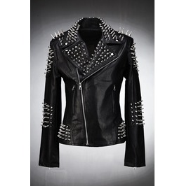 Dark Stud Biker Jacket