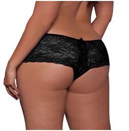 2206e96d6 Women s Sexy Lace Low Waisted Lingerie Underpants Bare Lace Underpants