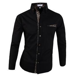 Shirt Ndp099 S Color : Black