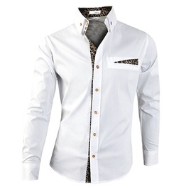 Shirt Ndp099 S Color : White