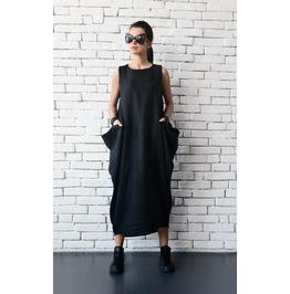Loose Linen Long Dress