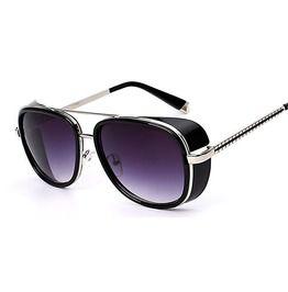 Vintage Retro Anti Reflective Lens Square Sunglasses