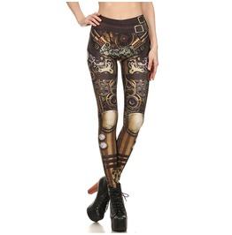 Sexy Women's Skinny Printed Stretchy Pants Slim Elastic Leggings