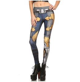 New Fashion Printed Leggings Women Skinny Stretchy Leggings Pants