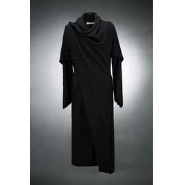 Python Line Drape Long Cardigan