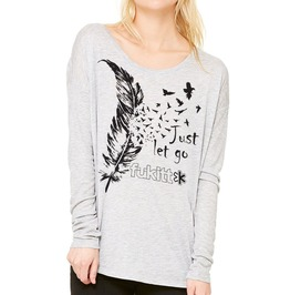 Women's Feather Let Go Long Sleeve Tee