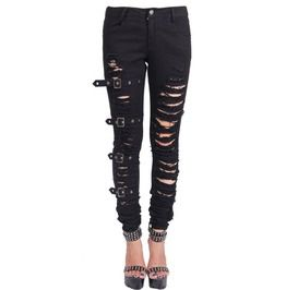 cb73df3aa59 Shop High Quality Punk Rock Jeans for Women at RebelsMarket