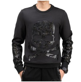Black Skull Sweatshirt