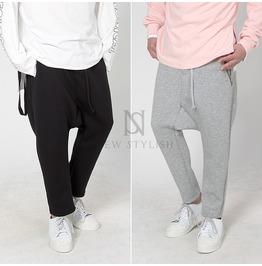 Neat Neoprene Zipper Sweatpants 245