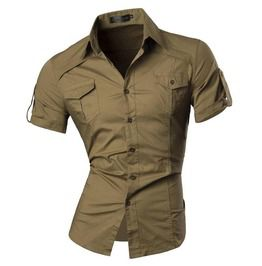 Military Dress Shirt