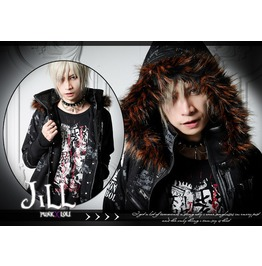 Punk Rock Anthem Final Fantasy Dirge Of Fenrir Wolf Parka Jacket R+B Jj0012