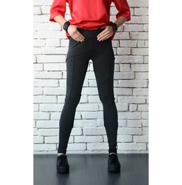Black Tight Leggings/Long Slim Pants/Extravagant Modern Urban Style Pants