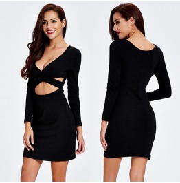 Bandage Bodycon Casual Evening Sexy Party Cocktail Short Mini Dress
