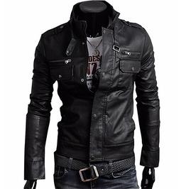 Leather Jacket Men's Brown Dark Brown Black Leather Jacket Men