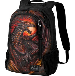 Dragon Furnace Back Pack With Laptop Pocket