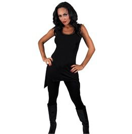 Gothic Pastel Goth Elegance Black Bottom Camisole Dress