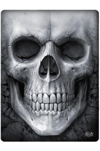Bleached Skull Fleece Blanket