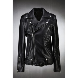 Double Zipper Biker Jacket