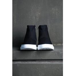 Zipper Sock Runner Sneakers