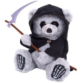 Spiral direct ted the grim teddy bear collectable soft plush toy elite 27cm toys and novelty