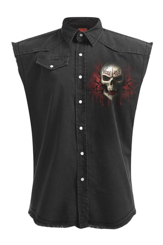 Men's Game Over Reaper Sleeveless Stone Washed Worker