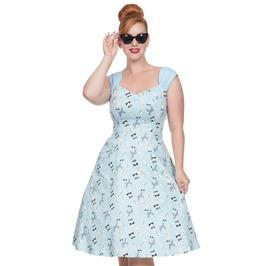 Voodoo Vixen Women Aubrey Dog Print Dress