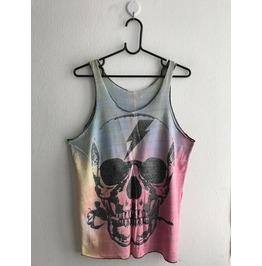 Skull Goth Punk Pop Art Rock Tank Top