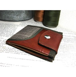 Vegan Leather Wallet With Paid
