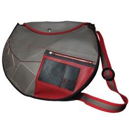 Vegan Leather Shoulder Bag, Fibonacci Shoulder Bag