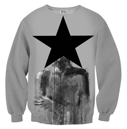 Black Star Sweater From Mr. Gugu & Miss Go