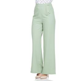 Voodoo Vixen Sadie Pastel Green Trousers