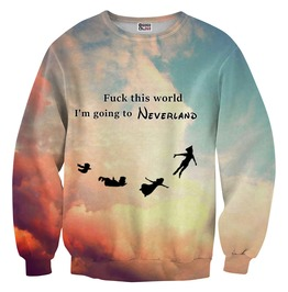 I'm Going To Neverland Sweater From Mr. Gugu & Miss Go