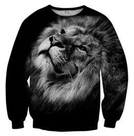 Black Lion Sweater From Mr. Gugu & Miss Go