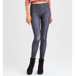 Skull Printed Leggings