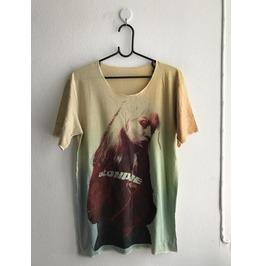Blondie New Wave Punk Rock Fashion Unisex T Shirt Low Cut L