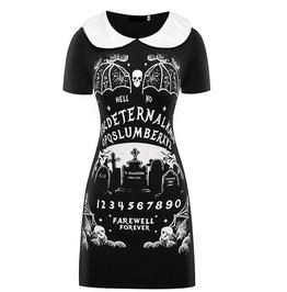 Eternal Slumber Farewell Forever Black Punk Gothic Dress