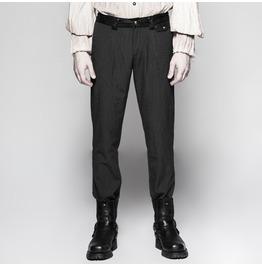 Punk Rave Men's Gothic Pinstripe Pants K287