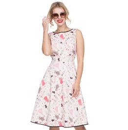 Voodoo Vixen Women's Jacqueline Paper Doll Dress