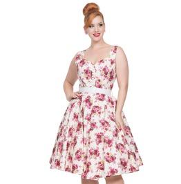Voodoo Vixen Women's Nicolette Floral Swing Dress