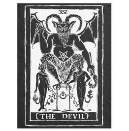 The Devil Tarot Blanket