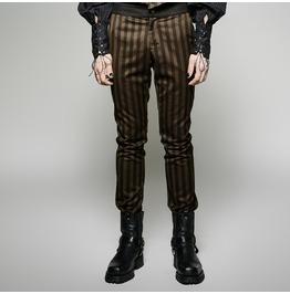 Steampunk Victorian Vampire Gothic Bridal Wedding Stripe Pants