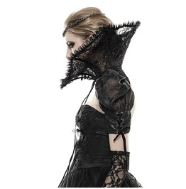 Punk Rave Collar And Sleeve Vintage Lace Gothic