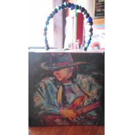 Stevie Ray Vaughn Cigar Box Purse
