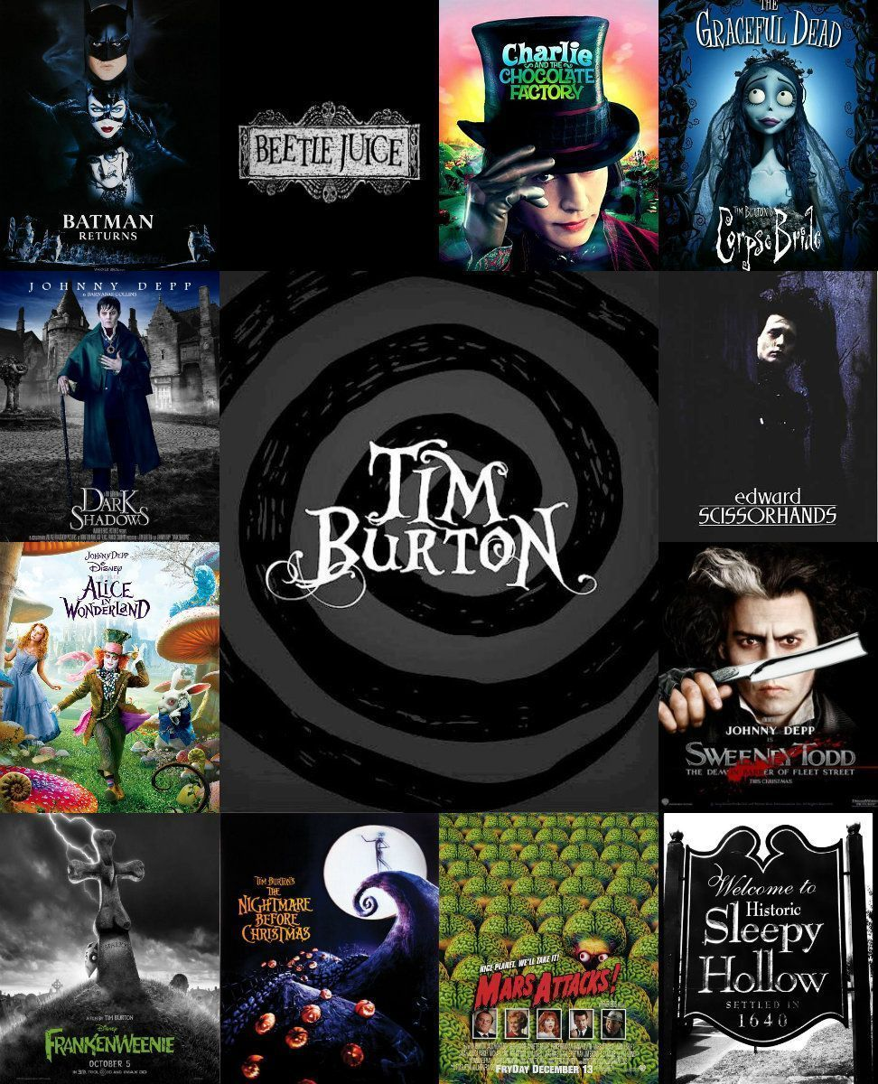 A peek into tim burtons films