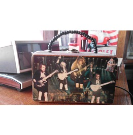 Acdc Cigar Box Purse