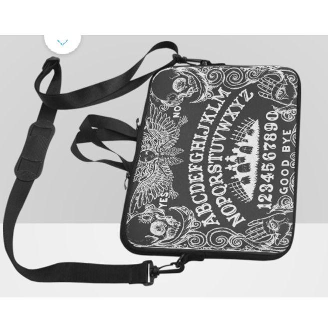1299a7564c76 Ouija Board Laptop Bag Black